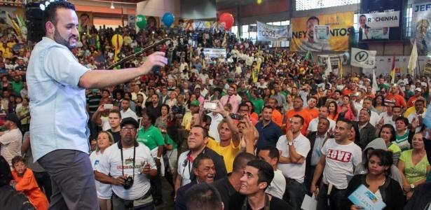 Ney Santos (PRB) foi eleito prefeito de Embu das Artes, na Grande São Paulo. O político já foi investigado por envolvimento com a facção criminosa PCC