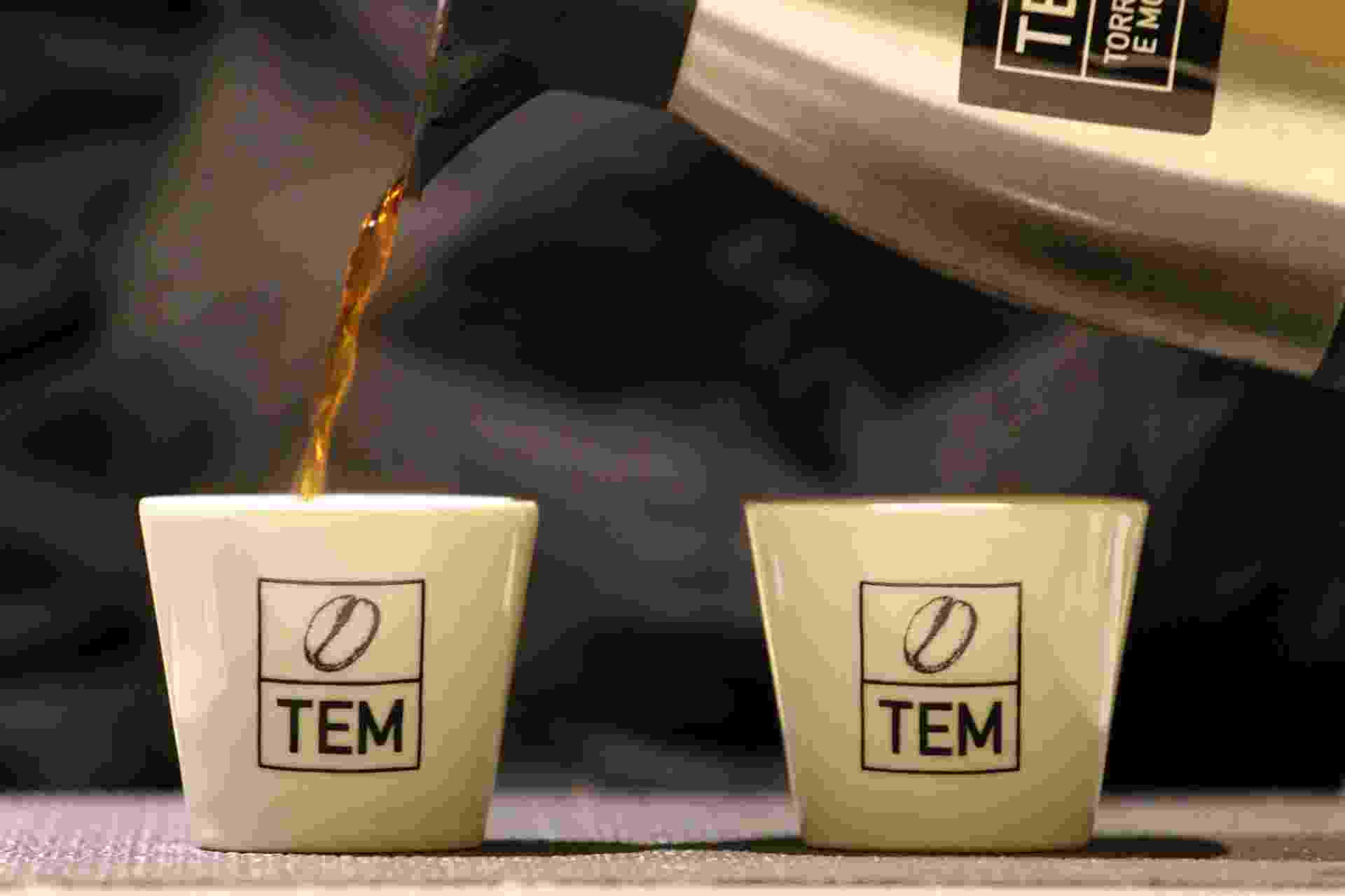 A loja TEM Café, aberta em maio de 2016, no Parque Buenos Aires, no bairro de Higienópolis, em São Paulo (SP) vende grãos exclusivamente brasileiros - Divulgação