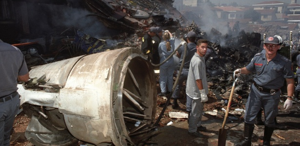 No dia 31 de outubro de 1996, um Fokker 100 da TAM caiu 24 segundos após decolar