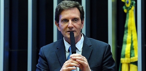 O prefeito do Rio de Janeiro, Marcelo Crivella - Luis Macedo/Câmara dos Deputados