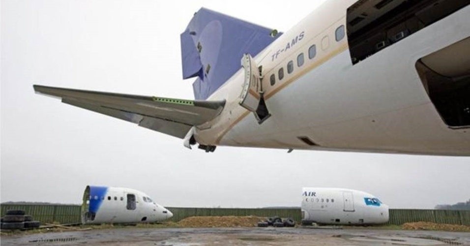 Lugar para onde os aviões vão para 'morrer'
