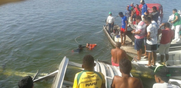 23.ago.2017 - Resgate de vítimas no Xingu - xingu230.com