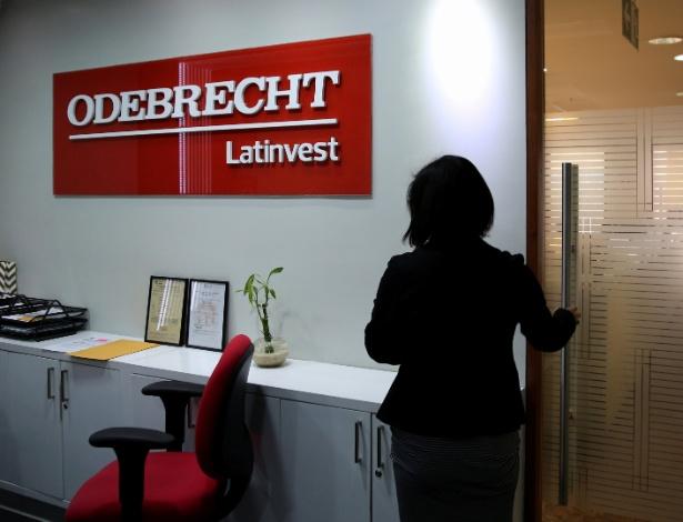 Escritório da Odebrecht Latinvest em Lima, no Peru