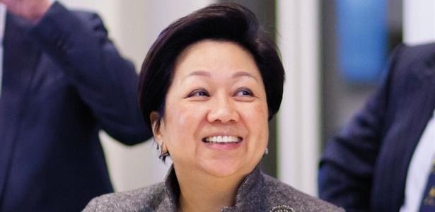 Laura Cha pode ser a primeira mulher a presidir o conselho da Bolsa de Hong Kong - Divulgação/Unilever
