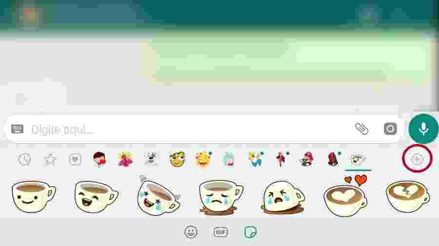 Stickers agora poderão ser animados, como GIFs - Reprodução