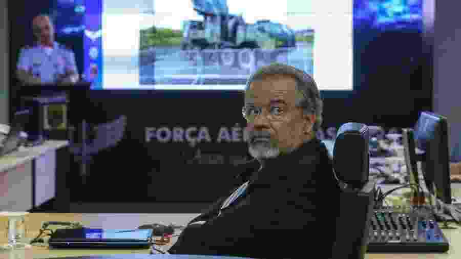 27.nov.2018 - Raul Jungmann, ministro da Segurança Pública, em evento da Força Aérea - Antonio Cruz/Agência Brasil