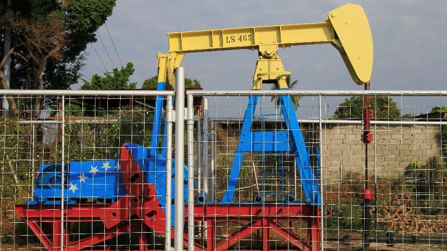 Equipamento para bombear petróleo na Venezuela, que teve carga do Irã apreendida pelos EUA - Isaac Urrutia / Reuters