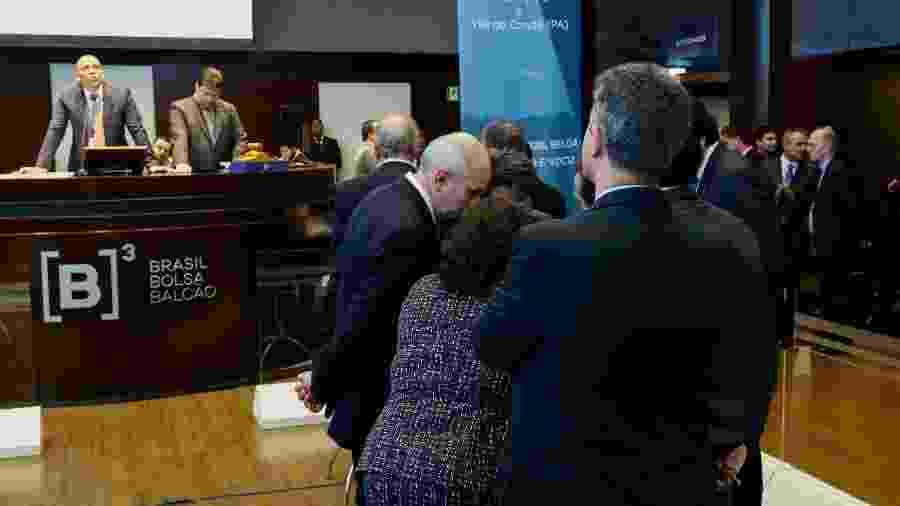 Espaço de eventos da B3, a Bolsa de Valores de São Paulo - ALOISIO MAURICIO/FOTOARENA/FOTOARENA/ESTADÃO CONTEÚDO