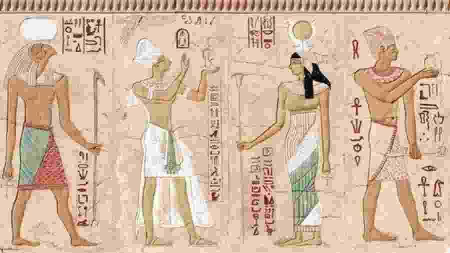 """Se você acha que os hieróglifos são """"antigos"""", você precisa repensar - Getty Images"""