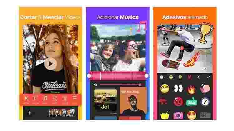 App InShot: editor de vídeo para stories no Instagram - Reprodução - Reprodução