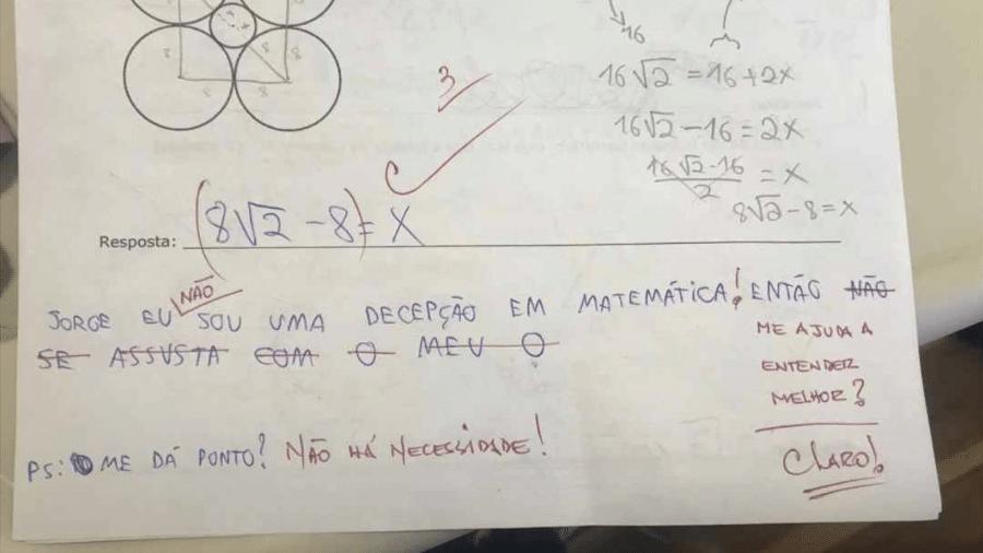 Professor Fofo Viraliza Após Desabafo De Aluna Em Prova De