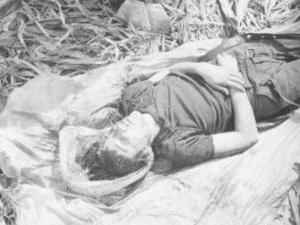 Corpo de militante morto pelo Exército no Araguaia, no Pará - Arquivo Nacional
