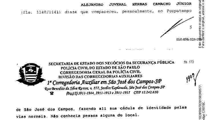Irmão de Marcola afirmou em depoimento que, foragido, foi ao Poupatempo para ter RG falso - Reprodução
