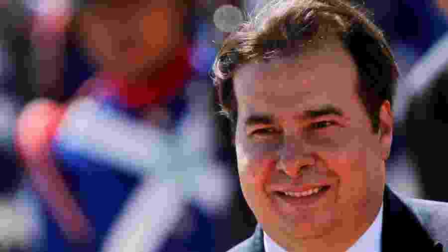 Presidente da Câmara dos Deputados, Rodrigo Maia, em Brasília -