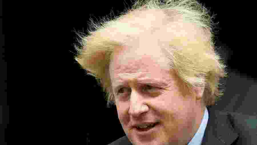 Premiê britânico, Boris Johnson, em Londres; Brexit será concluído no fim deste ano -