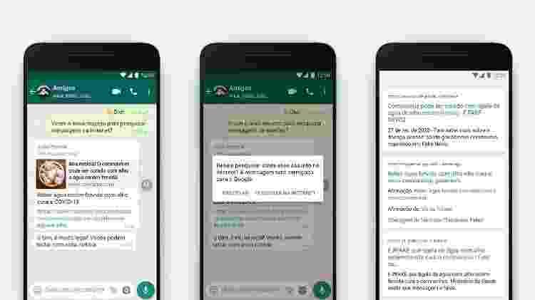 Ferramenta de pesquisar na internet do WhatsApp - Divulgação - Divulgação