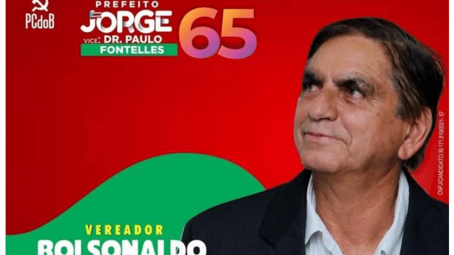 Bolsonaldo, candidato a vereador em Marituba, no Pará - Divulgação
