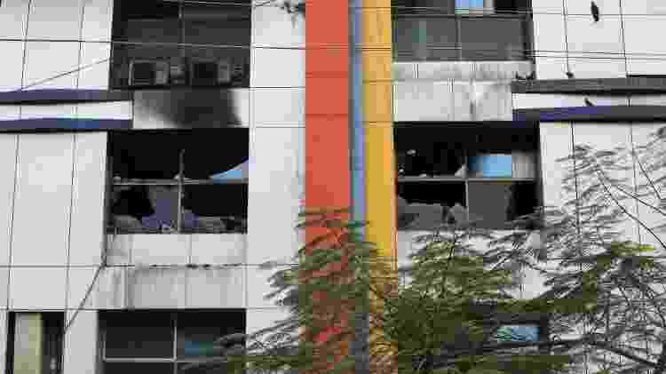 Fachada do hospital Vijay Vallabh - REUTERS/Francis Mascarenhas - REUTERS/Francis Mascarenhas