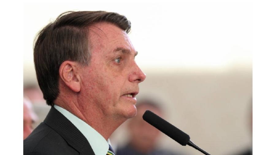 """Presidente Jair Bolsonaro: Fortuna e """"virtù"""" se encontraram; em vez de surgir o Príncipe, veio o ogro - Marcos Corrêa/PR"""