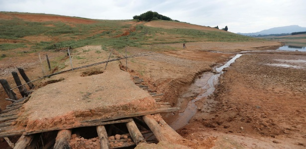 Cantareira tem agosto mais chuvoso em 6 anos, mas ainda abaixo da média - Moacyr Lopes Junior/Folhapess