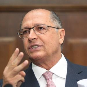 O governador Geraldo Alckimin