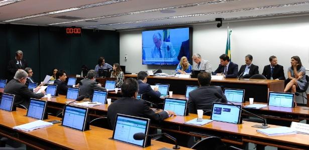 Sessão do Conselho de Ética da semana passada: novo adiamento no caso de Cunha
