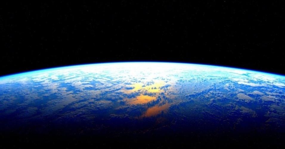 Não surpreende que, na última noite de Scott, ele tenha postado uma foto da Terra.