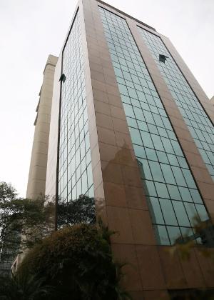 Fachada de prédio do escritório do presidente interino, Michel Temer, no Itaim Bibi, na zona sul de São Paulo. O dono do imóvel é o filho de 7 anos de Michel Temer, que já tem R$ 2 milhões em imóveis
