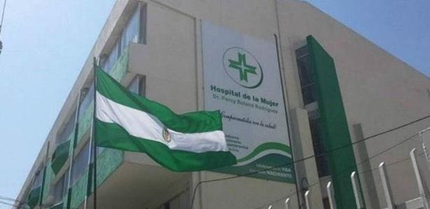 Hospital da Mulher de Santa Cruz de la Sierra, na Bolívia, onde Vania C. deu à luz - Divulgação