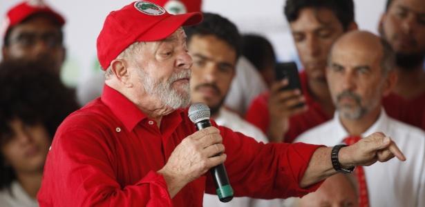 """Ex-presidente Lula tem dito em eventos que será candidato """"se for necessário"""""""