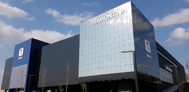A loja Varejo Tramontina instalada na cidade de Farroupilha, no Rio Grande do Sul