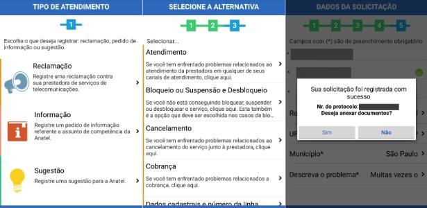 App Anatel Consumidor registra reclamações contra operadoras