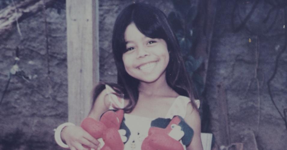 Leide das Neves, 6, morta por contaminação pelo Césio 137 em outubro de 1987 e personagem-símbolo da luta contra o preconceito