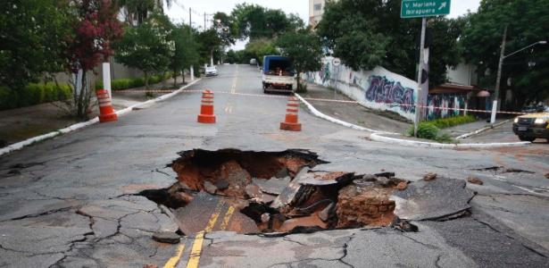Rompimento de adutora na Vila Mariana resultou no corte de água em vários bairros da região