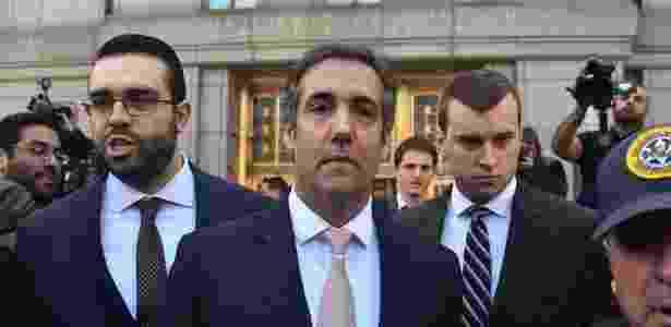 26.abr.2018 - Michael Cohen, ex-advogado de Donald Trump, investigado pelo FBI - AFP PHOTO / HECTOR RETAMA - AFP PHOTO / HECTOR RETAMA