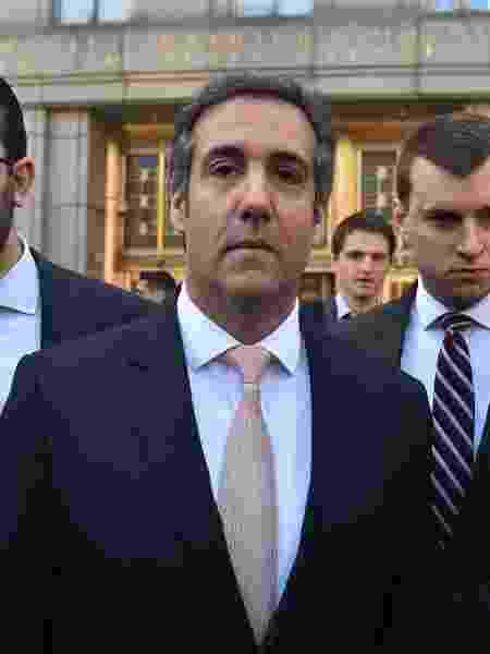 Michael Cohen, ex-advogado de Donald Trump, investigado pelo FBI - AFP PHOTO / HECTOR RETAMA
