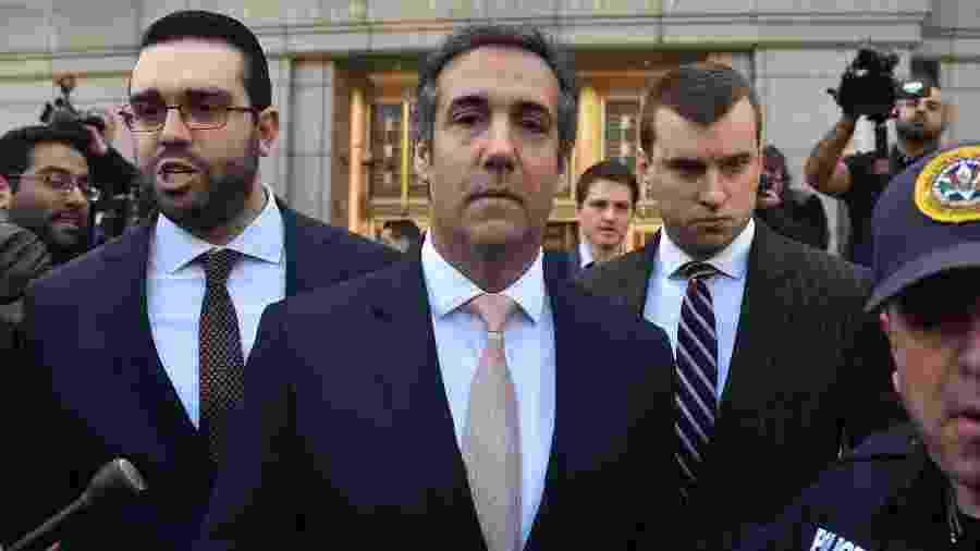 Michael Cohen, ex-advogado de Donald Trump - AFP PHOTO / HECTOR RETAMA