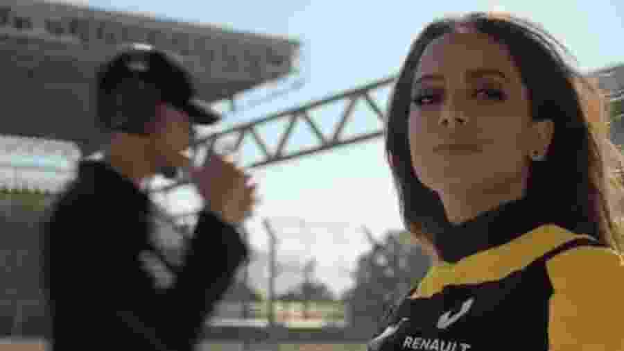 Anitta é a estrela do novo comercial da Renault - Reprodução