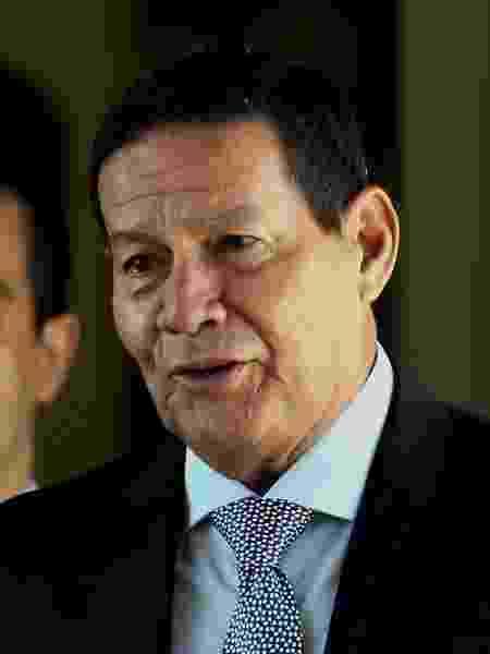 O vice-presidente, general Hamilton Mourão - Ernesto Rodrigues/Estadão Conteúdo
