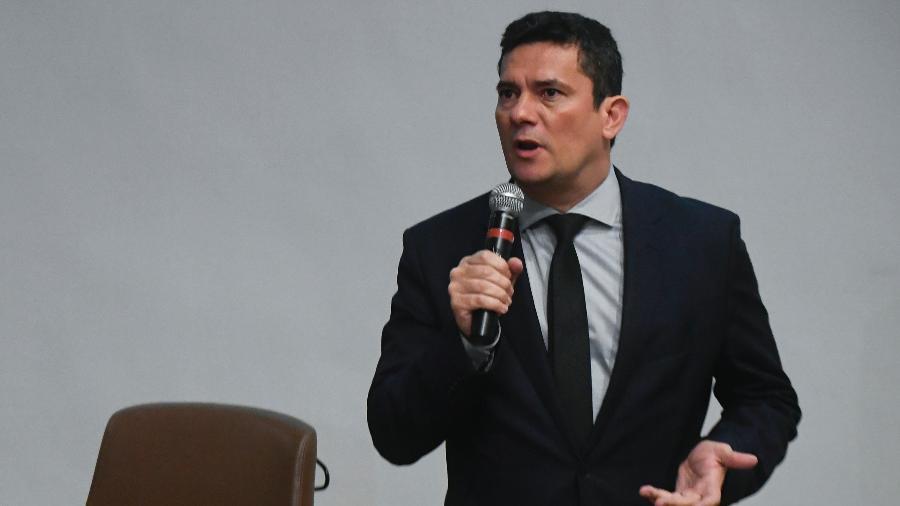 4.fev.2019 - O ministro da Justiça e Segurança Pública, Sergio Moro - Mateus Bonomi/Estadão Conteúdo