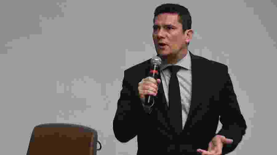O ministro da Justiça e Segurança Pública, Sergio Moro - Mateus Bonomi/Estadão Conteúdo