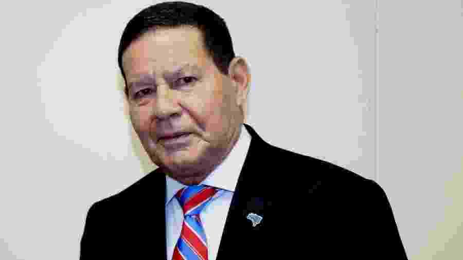Hamilton Mourão, vice-presidente da República - Planalto