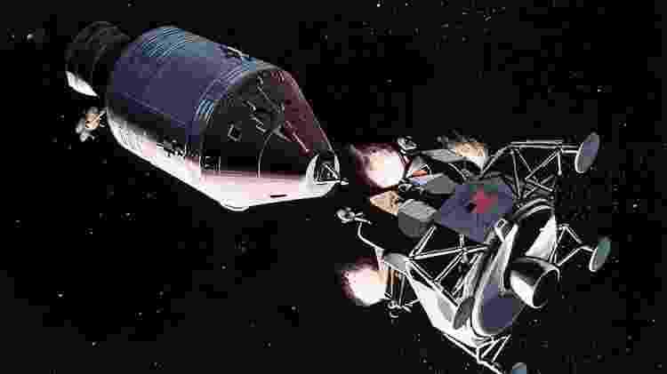 Uma possibilidade é que, ao se misturar com a atmosfera do módulo espacial, a poeira lunar seja oxidada - Getty Images