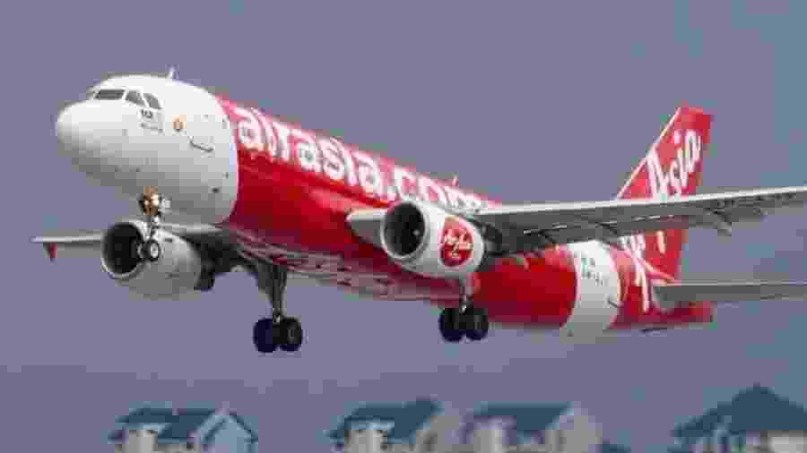 Avião AirAsia - Divulgação/AirAsia