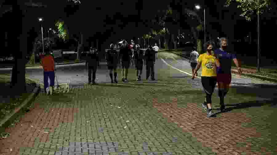 Apesar da quantidade expressiva de pessoas, a prefeitura considerou a movimentação como tranquila - ROBERTO CASIMIRO/FOTOARENA/FOTOARENA/ESTADÃO CONTEÚDO