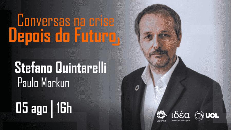 Stefano Quintarelli no Conversas na Crise (05/08/20) - Arte/IdEA-Unicamp