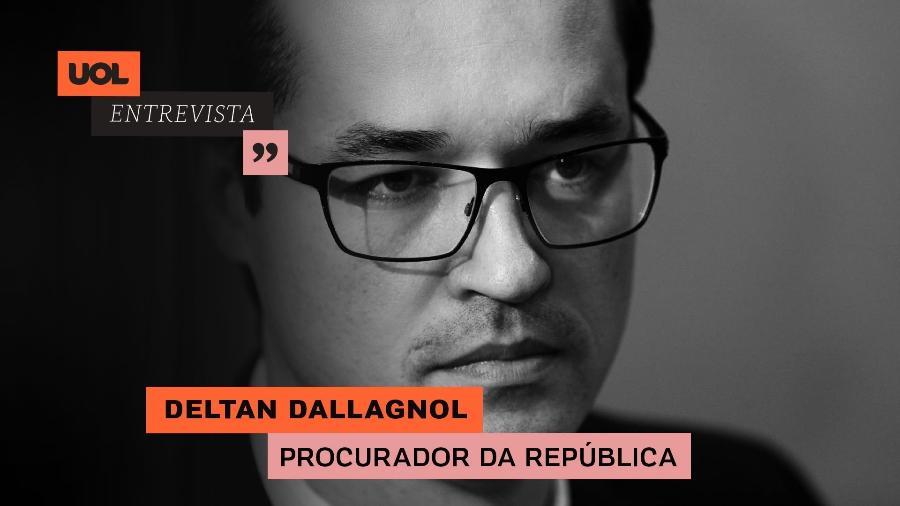 Deltan Dallagnol no UOL Entrevista (17/08/20) - Arte/UOL