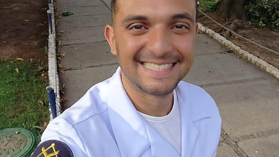 Michel Uchiha, terceiro sargento da Marinha e militante do movimento LGBTQI+ - Arquivo Pessoal