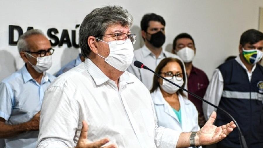 João Azevêdo anuncia toque de recolher, adiamento de aulas e fechamento do acesso as praias - José Marques/Governo da Paraíba