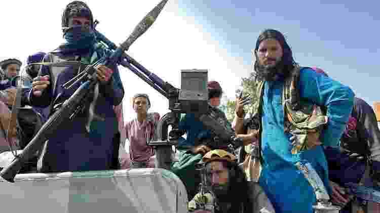 Talebã tomou a totalidade do território afegão neste domingo - Getty Images - Getty Images